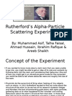 Rutherford's Alpha-Particle Scattering Experiment