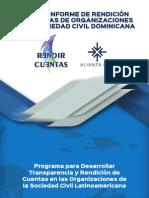 Tercer Informe de Rendición de Cuentas de Organizaciones de Sociedad Civil Dominicana