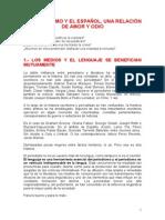 Español y Periodismo, Una Relación de Amor y Odio