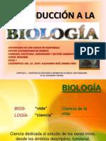 Presentaciu00d3n Introducciu00d3n a La Biologu00cda (Clase Capu00cdtulo 1-2015)