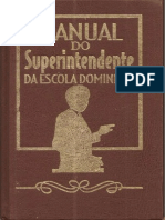 Manual Do Superintendente Da Escola Dominical - Claudionor Corrêa de Andrade