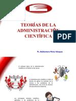 Teorias de La Administración Científica