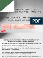 Presentacion Emision Acustica Para Fondos de Tanques