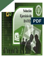 Soluciones Excel Bases de Datos