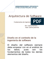 arquitecturadesoftware-120809111136-phpapp01