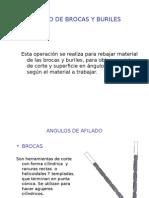 AFILADO DE BROCAS Y BURILES.ppt