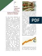 La Gerencia de Mercadeo y la Generación de Nuevos Productos y Servicios frente a la actual escasez de Productos y Servicios en Venezuela