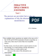 Interactive Questions 01
