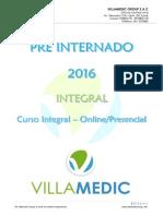 Información Pre Internado 2016 PDF