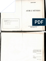 Ator e Metodo Eugenio Kusnet
