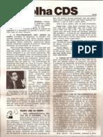 Folha CDS, nº 135 - 7 de Setembro de 1978