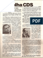 Folha CDS, nº 137 - 21 de Setembro de 1978