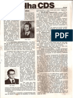 Folha CDS, nº 134 - 31 de Agosto de 1978
