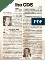 Folha CDS, nº 142 - 26 de Outubro de 1978