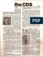 Folha CDS, nº 141 - 19 de Outubro de 1978