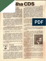 Folha CDS, nº 147 - 30 de Novembro de 1978