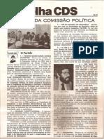 Folha CDS, nº 154 - 1 de Fevereiro de 1979