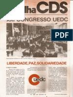 Folha CDS, nº 210 - 3 de Julho de 1980