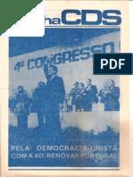 Folha CDS, nº 236 - 9 de Abril de 1981