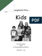 Complaint Free Kids SPANISH
