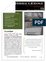 The C4C Federal Exchange Newsletter   Vol. 2 No.2    February 2015