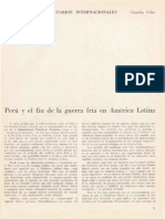 Guerra Fria y Peru