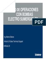 Bombeo Electrosumergible - Cartas Amperométrica y Analisis de Fallas