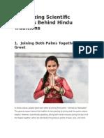 20 Tradiciones Indias