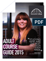 Adult Course 2015