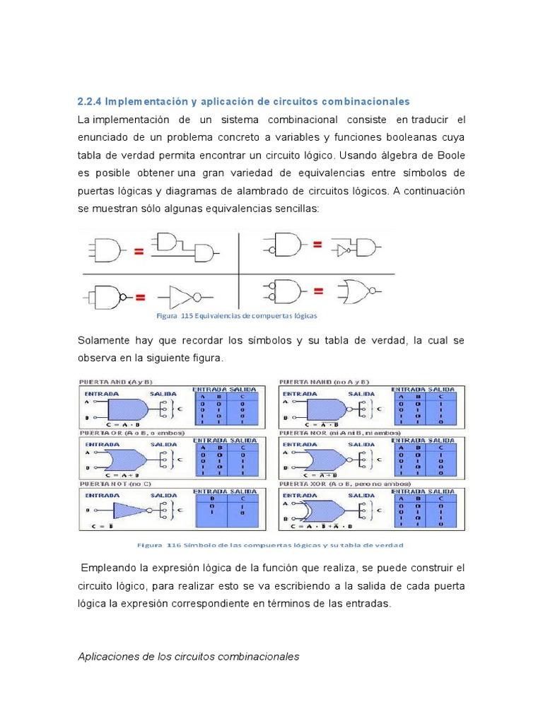 Circuito Xor : Electronica digital