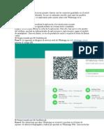 Sta Versión Web de La Aplicación Permite Chatear Con Los Contactos Guardados en El Móvil Directamente Desde El Ordenador