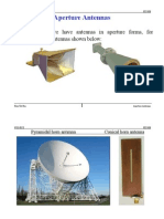 Aperture Antennas Word