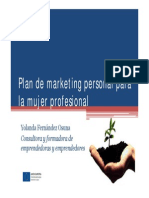 Plan Marketing Personal Yolanda Fernandez