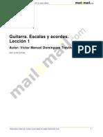 Guitarra Escalas Acordes Leccion 1 37959