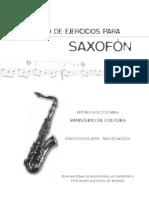 Cuaderno Saxofón