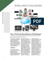 Top 10 Cloud Surveillance Challenges Smartvue