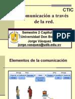 Comunicación a Través de La Red.