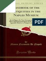 Handbook of the Antiquities in the Naples Museum
