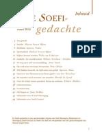 Soefi-gedachte 17. Maart 2012