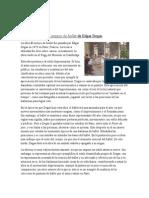 Ensayo Degas