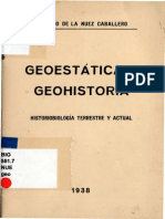 De La Nuez Antonio - Geoestatica Y Geohistoria