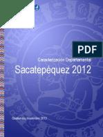 Caracterizacion Departamental Sacatepequez