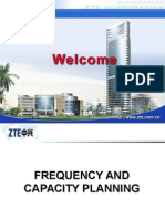 ZTE Frequency and Capacity Planning