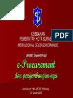 Kebijakan Pemerintah Kota Surabaya