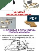 VALVULAS PROPORCIONADORAS