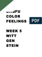 Wittgenstein's Remarks on Color