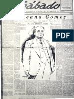 Sabado-cronica de Un Semanario Democratico