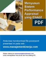 MENYUSUN SISTEM performance-appraisal.ppt