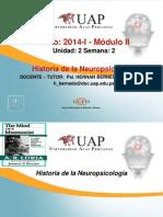 Semana 2 .1- Historia de La Neuropsicologia