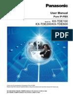 KXTDE100 200 600 User Manual